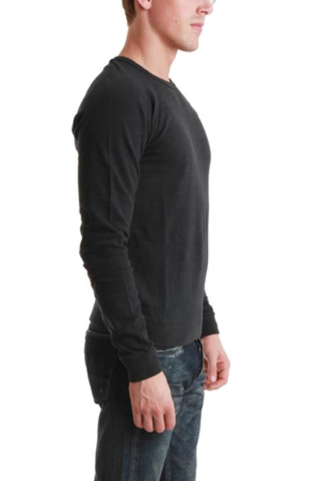 Rag & Bone Long Sleeve Raglan Top - Black