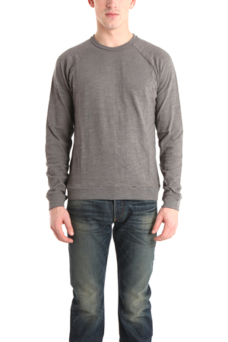 Rag & Bone Long Sleeve Raglan Top - Charcoal