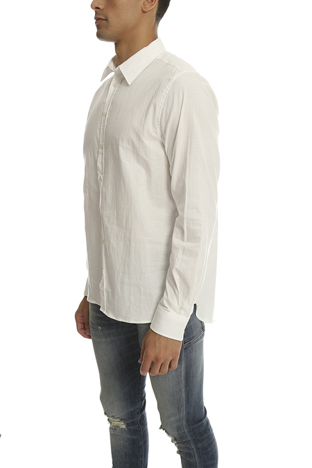 Norse Projects Hans Double Layer Shirt - White