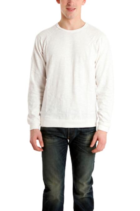 Rag & Bone Long Sleeve Raglan T-Shirt - White