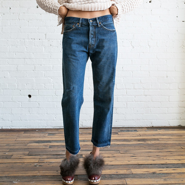 Chimala Selvedge Denim Used Ankle Cut