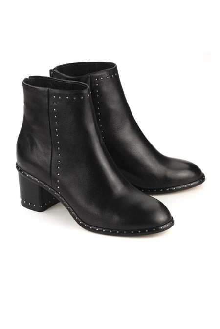 Rag & Bone Willow Stud Boot Shoes - Black