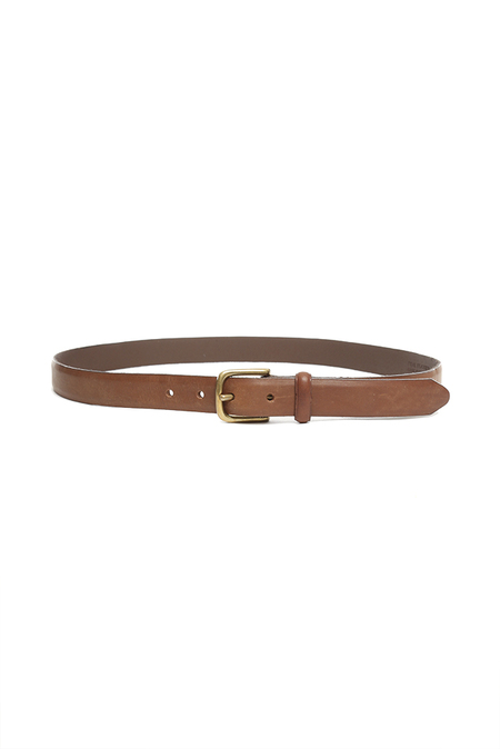Rag & Bone Skinny Dress Belt - Brown