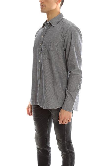 Rag & Bone 3/4 Placket Shirt - Dark Dune