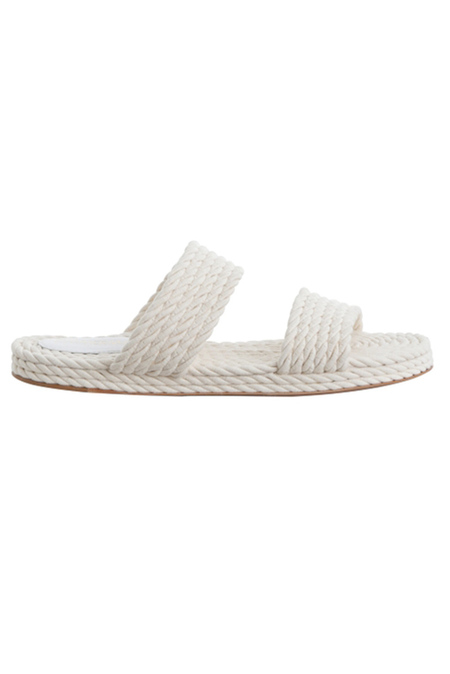 Zimmermann Rope Slide Sandals Shoes - Natural