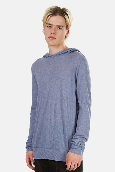 Blue&Cream 66 Pullover Hoodie Sweater - Heather Blue