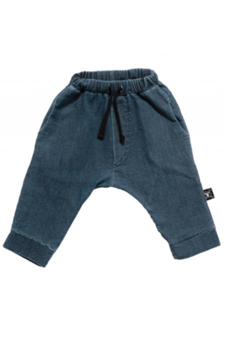 kids Nununu Riding Sweatpants - Denim
