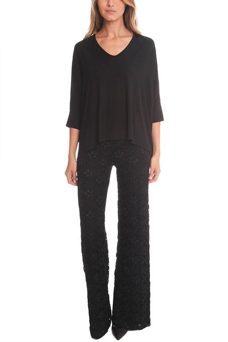 Women's Nightcap Dixie Lace High Waist Trouser - Black
