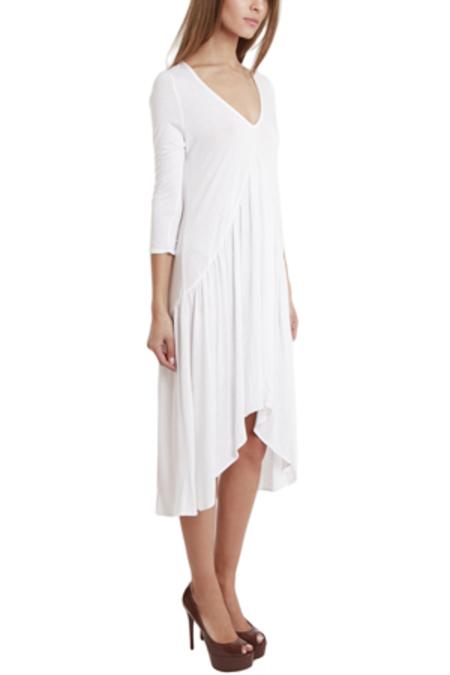 Nightcap BluRose Boudoir Gown Dress - White