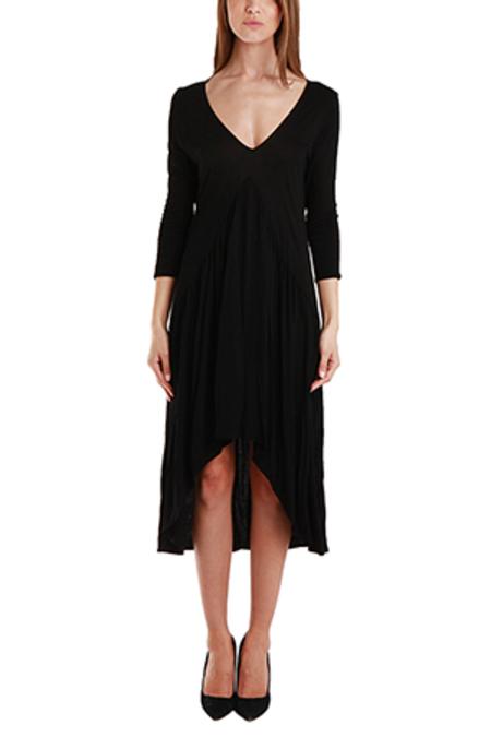Nightcap BluRose Boudoir Gown Dress - Black