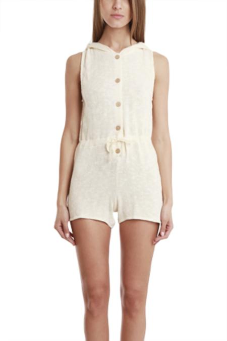 Nightcap Portia Flirtsuit One-Piece -  Natural