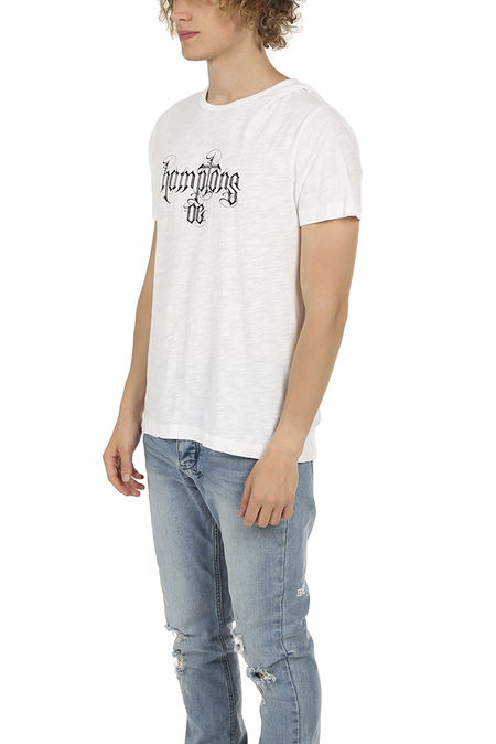 Blue&Cream Hamptons OG Graphic Classic T-Shirt - White
