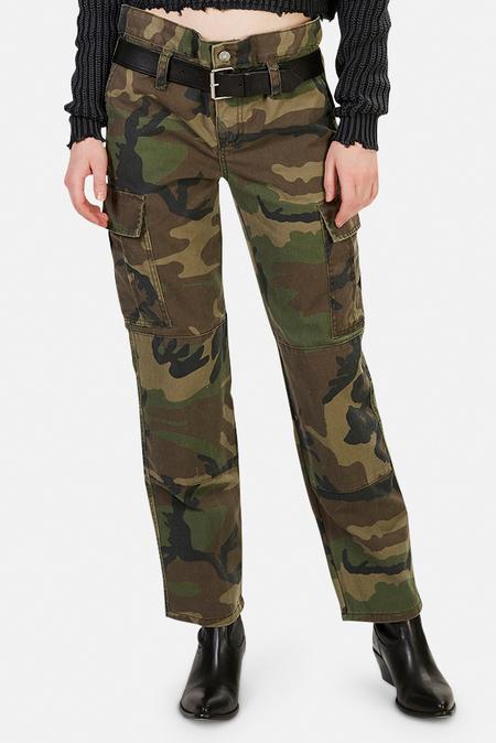 RtA Sallinger Pants - Woodland Camo