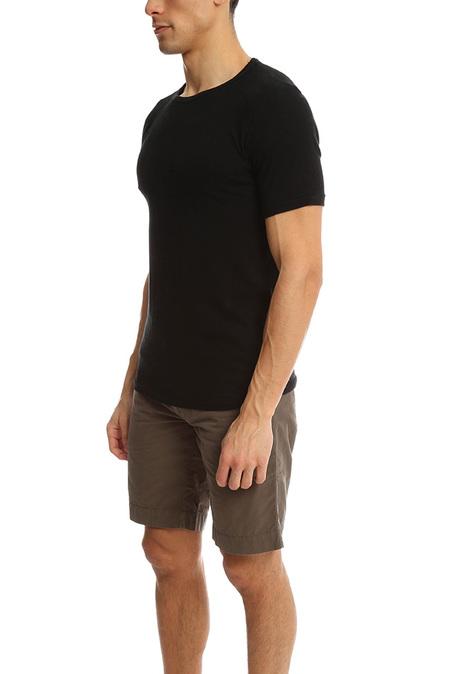 V::Room Rough Yarn T-Shirt - Black
