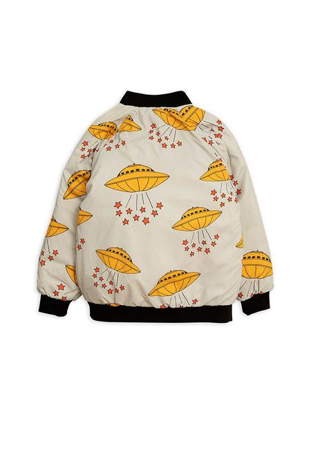Kids Mini Rodini UFO Insulator Jacket - Grey
