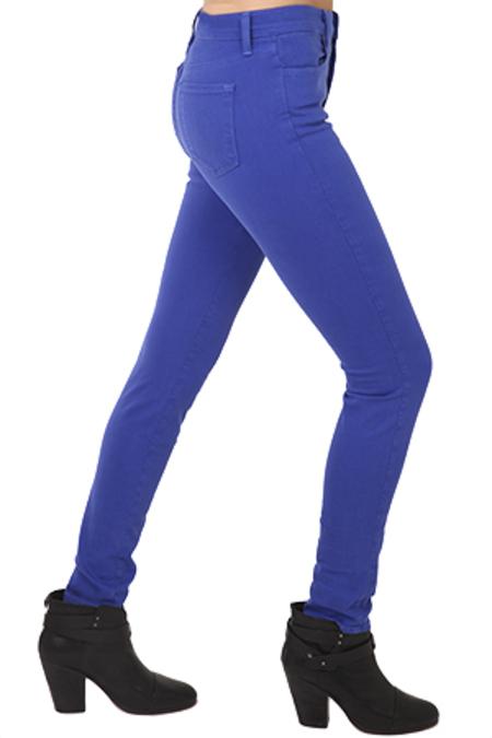 J Brand Maria High Rise Pants - Elect Iris