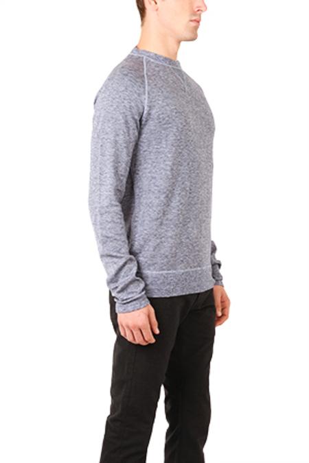 V::Room Crewneck Sweatshirt - Heathered Navy