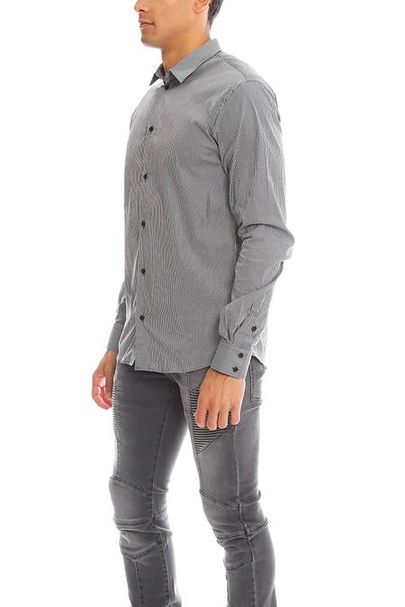 IRO Balak Chemise Button Down Top - Black/White