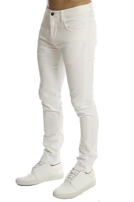 Helmut Lang Core Twill Skinny Pant - Optic White