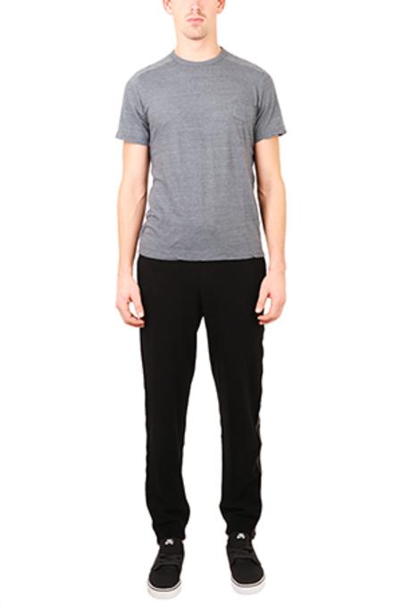 Blue&Cream Track Pants - Black
