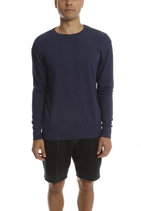 V::Room Stretch Modal LS Sweater - Navy