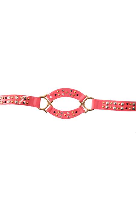 Bec & Bridge Studded Belt - Pink