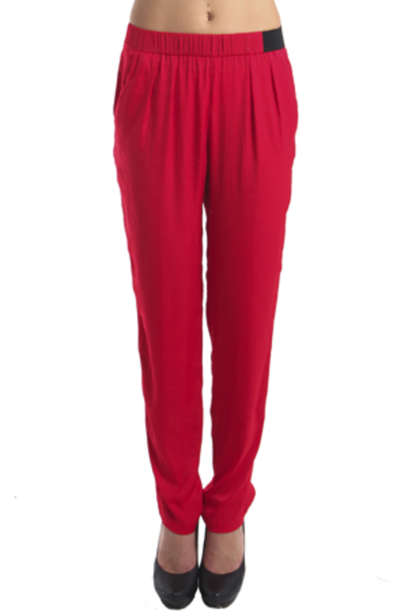 IRO Ilva Relaxed Pants - Red