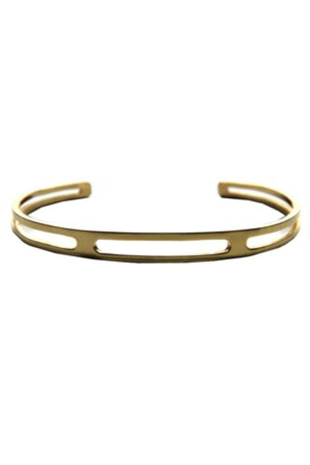 Bernard James The Gage Bracelet - 14k yellow gold