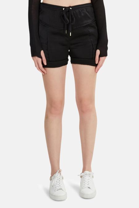 Alexander Wang Silk Shorts - Black