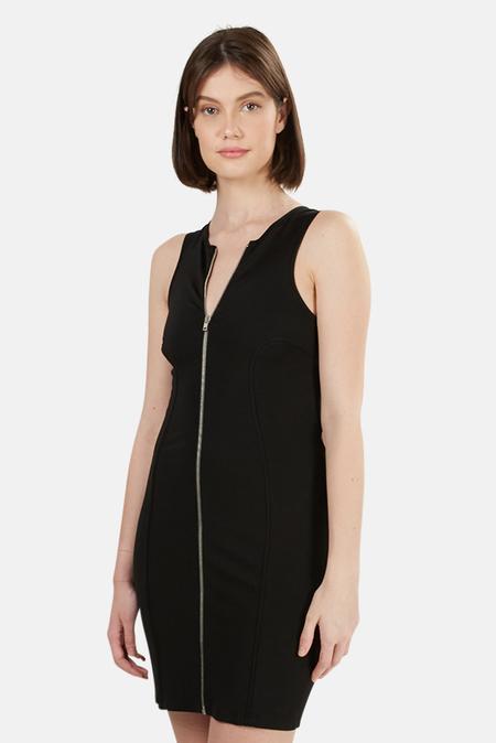 Alexander Wang Ponte Dress - Black