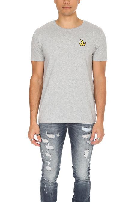 Bricktown Banana Graphic T-Shirt - Grey