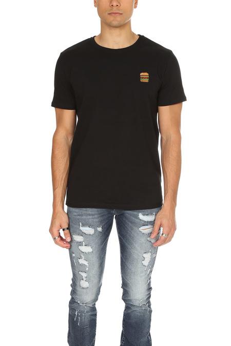 Bricktown Burger Graphic T-Shirt - Black