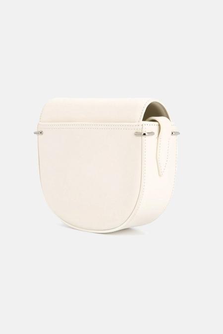 3.1 Phillip Lim Alix Mini Saddle Crossbody Bag - Off White