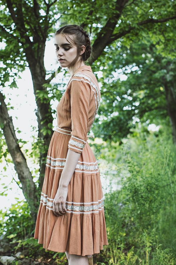 Blacksheep Vintage Western Dandees Sadie Dress