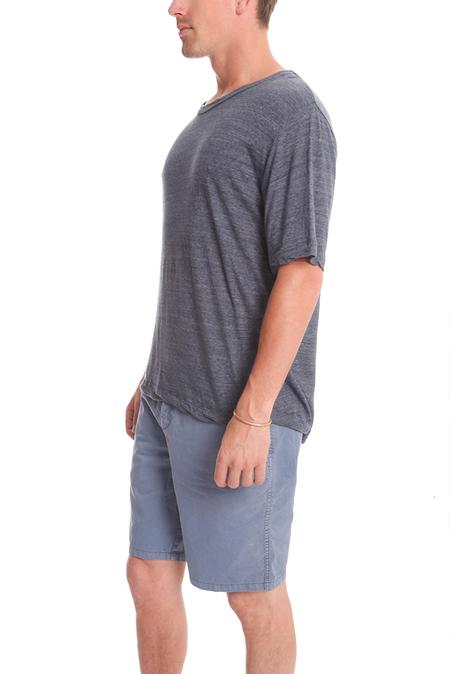 V::Room Highsoft Crewneck T-Shirt - Denim