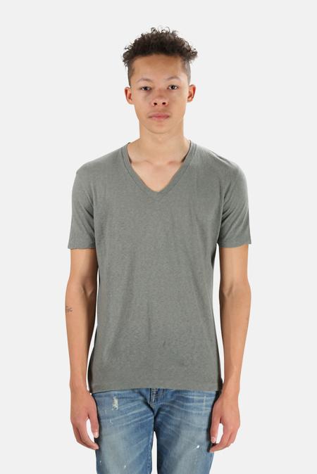 V::Room V Neck T-Shirt - Charcoal