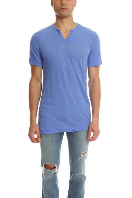 V::Room Highsoft Jersey Slit T-Shirt - Violet