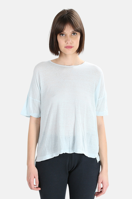 V::Room High Soft Melange T-Shirt - Light Mint