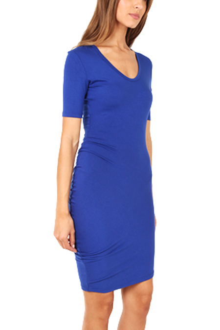 Blue&Cream Remo Dress - Blue