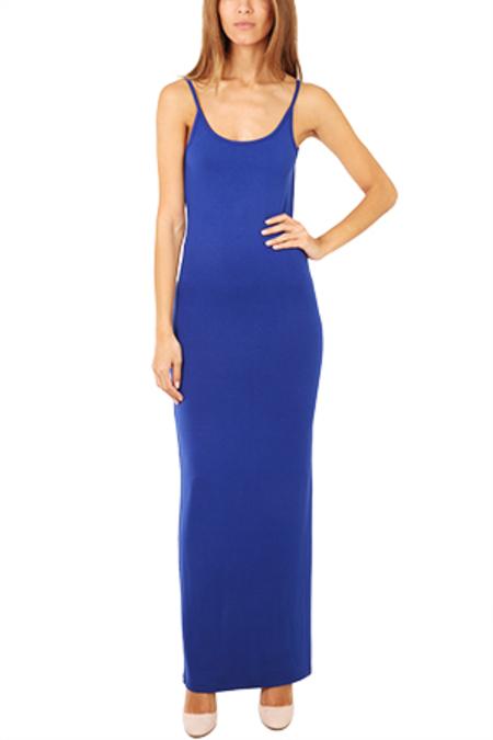 Blue&Cream Chelsea Maxi Dress - Blue