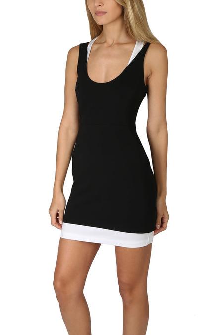 A.L.C. Baez Dress - Black/White