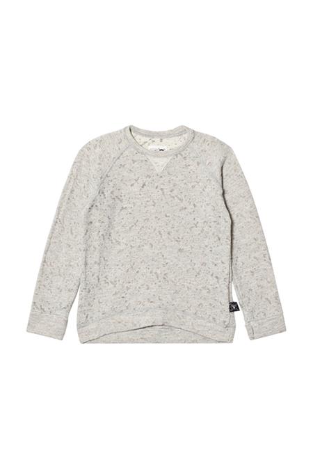 Kids Nununu Deconstructed Sweatshirt - Grey