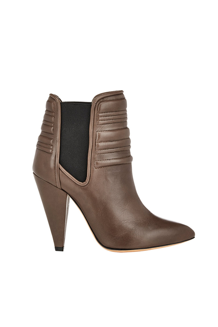 IRO Klara Bootie Shoes - Brown Khaki