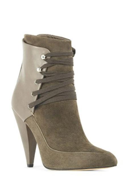 IRO Kansas Bootie Shoes - Khaki