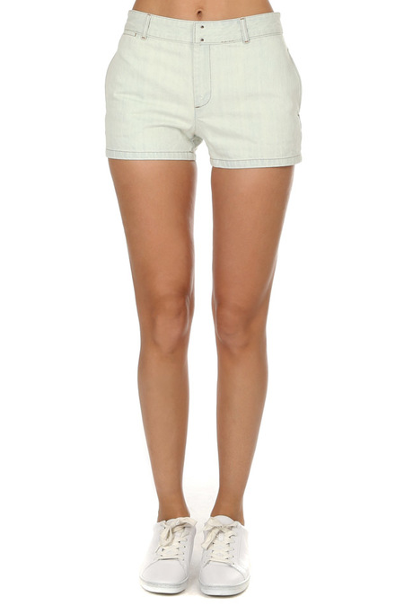 A.P.C. Bleached Mini Shorts - Bleached Out