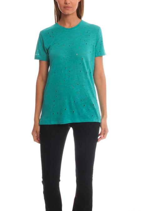 IRO Clay Classic T-Shirt - Emerald