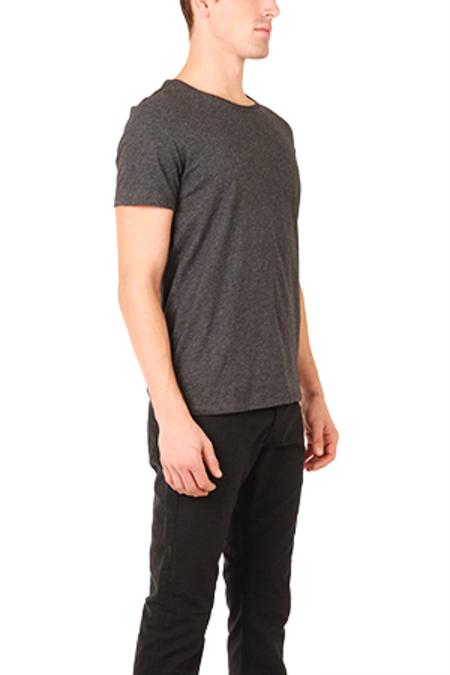 ATM Classic Jersey Crew T-Shirt - Black