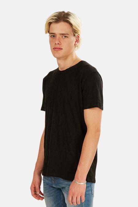 ATM Slub Crew T-Shirt - Black
