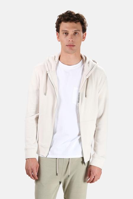 Men's Wheelers.V Jones Zip Hoodie Sweater - Crescent Cream