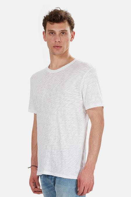 ATM Slub Crew Classic T-Shirt - White